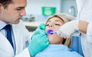 Лечение зубов при герпесе на губах