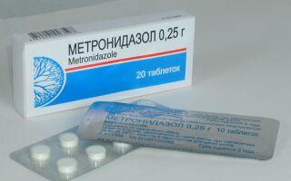 Метронидазол при лечении демодекоза