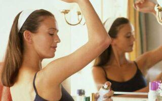 Причины появления запаха пота и средства борьбы с ним