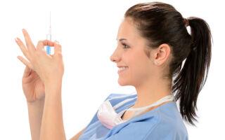 Уколы при лечении и профилактике герпесвируса