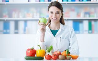 Правила питания при грибковых заболеваниях