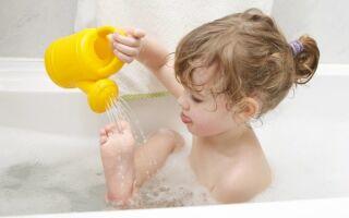 Водные процедуры при вирусе коксаки