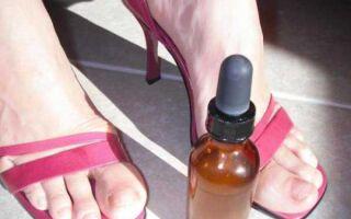 Способы и средства дезинфекции обуви от онихомикоза