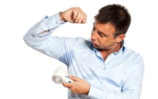 Как избавиться от излишней потливости подмышек в домашних условиях