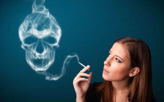 Курение — причина появления прыщей на лице