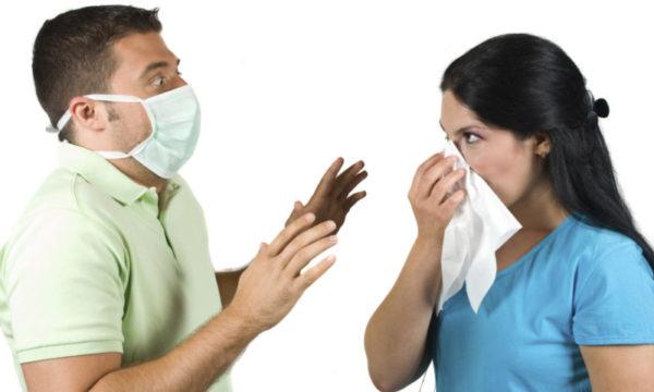 Воздушно-капельный путь передачи вируса Коксаки