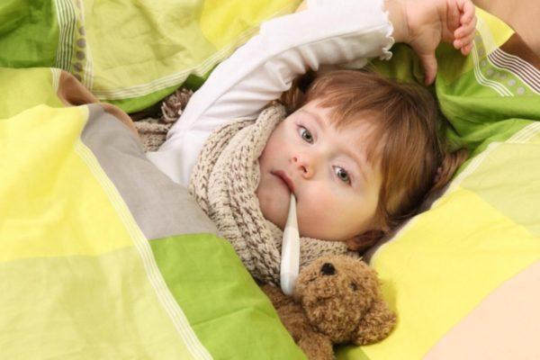 Вирус Коксаки ребенка