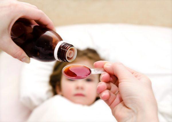 Прием жаропонижающего препарата