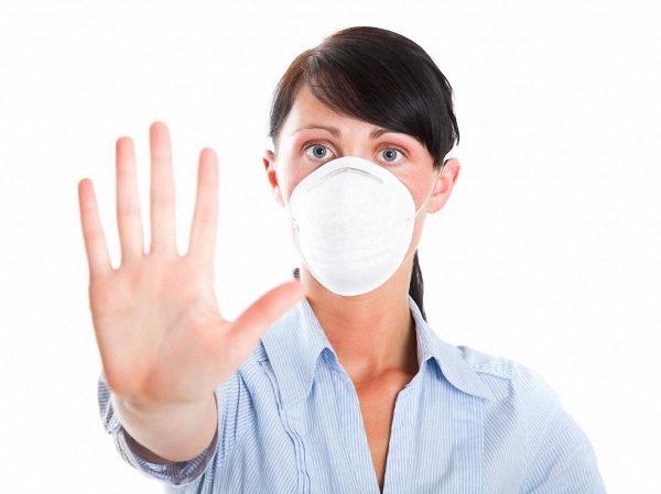 Защита от заражения вирусом Коксаки воздушно-капельным путем