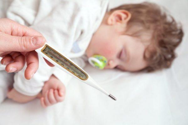 Повышенная температура после прививки
