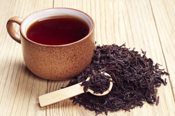 Черный чай от герпеса