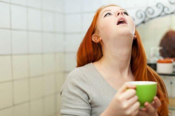 Полоскание полости рта содовым раствором