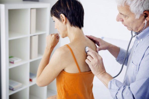 Пневмония, как осложнение кори