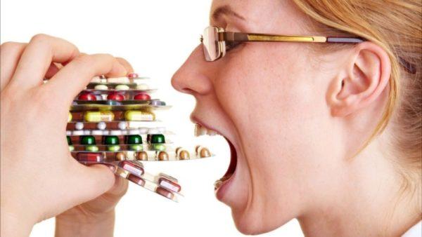 Длительный прием антибиотиков