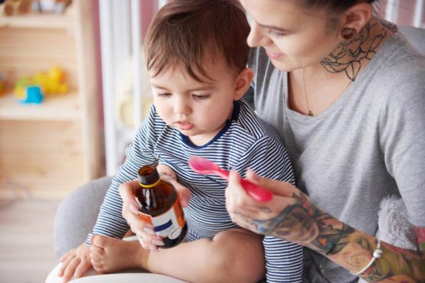 Лечение герпеса у ребенка