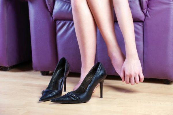 Бородавки на ногах