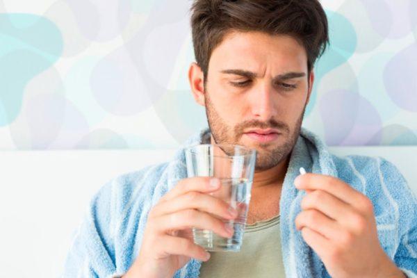 Противовирусная таблетка