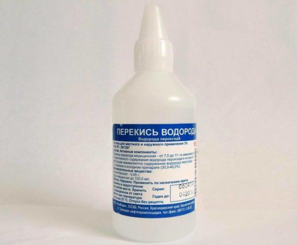 Эффективность перекиси водорода против герпеса