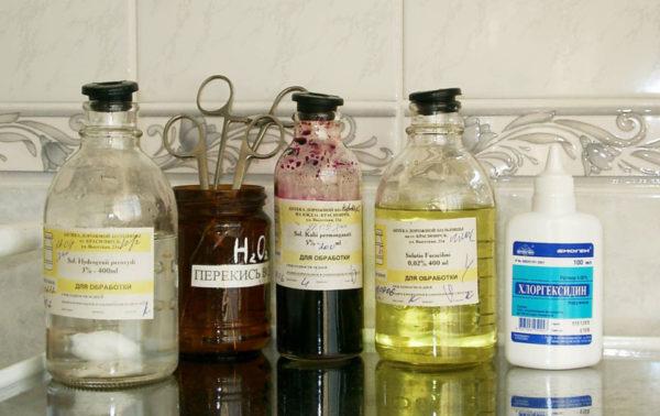 Растворы для лечения паронихии