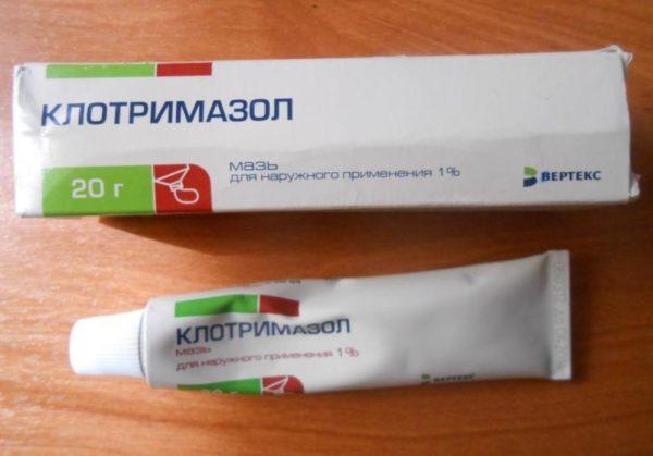 Мазь Клотримазол против вируса герпеса