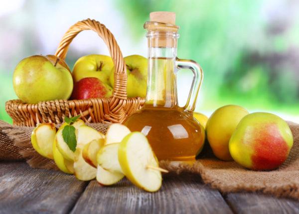 Яблочный уксус от демодекоза