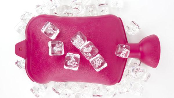 Грелка со льдом от зуда