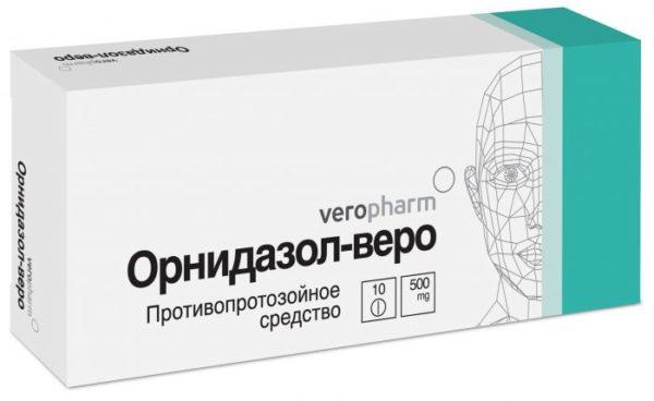 Орнидазол при демодекозе