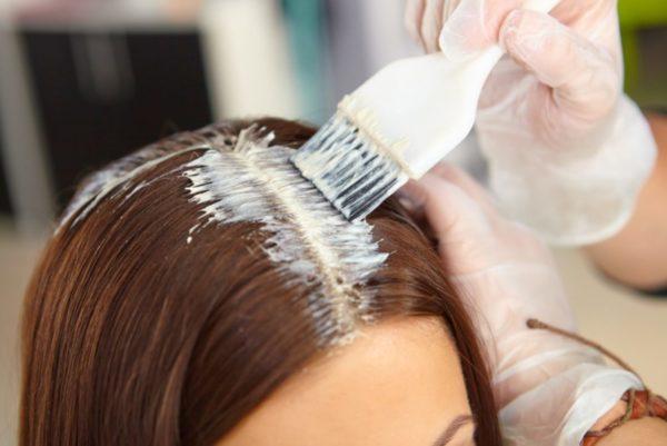Окрашивание волос от педикулеза
