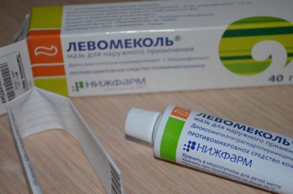 Левомеколь для профилактики и лечения герпесвируса