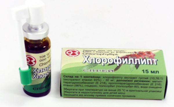 Хлорофиллипт золотистый стафилококк