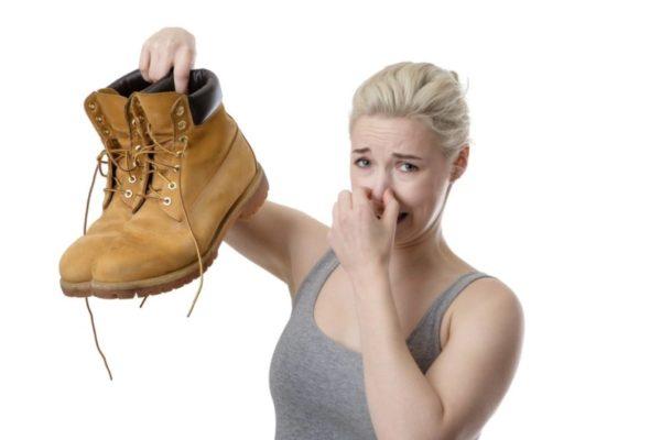 Грибок в обуви