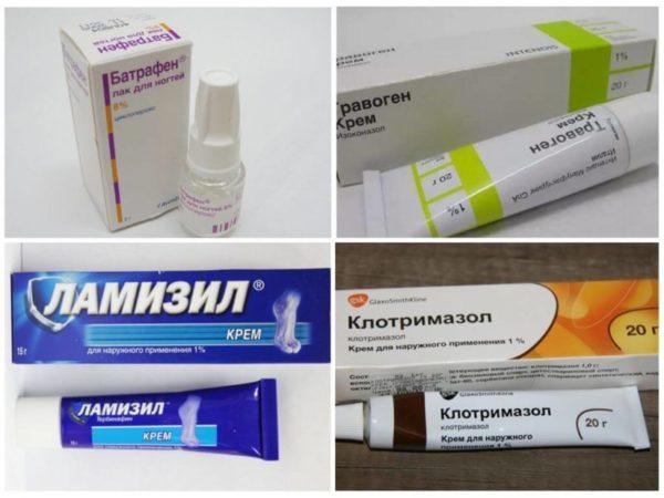 Препараты от онихомикоза