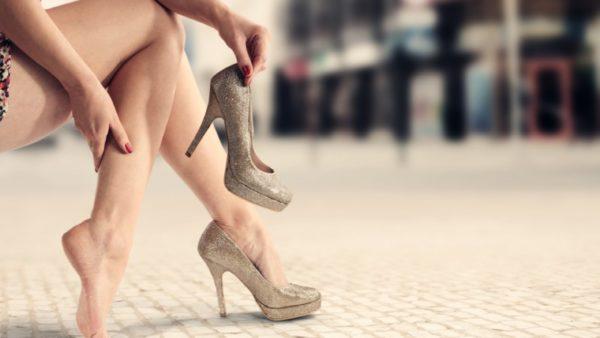 Некомфортная обувь