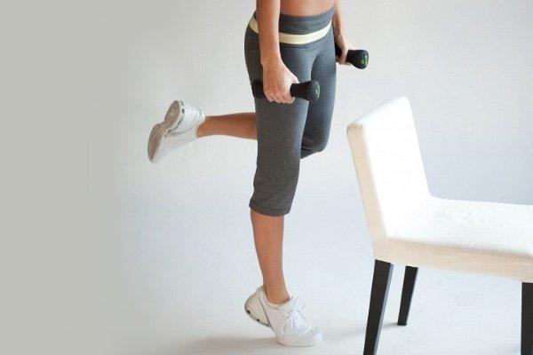 Упражнение «подъем на носочки»