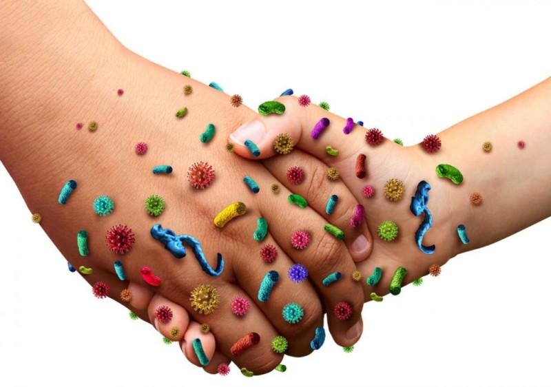 Заражение лишаем через рукопожатие