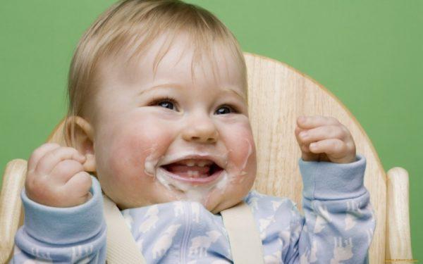 Крупный малыш с аллергией