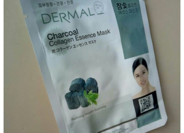Dermal Charcoal Collagen Essence Mask