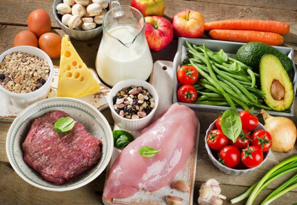 Растительно-белковая диета