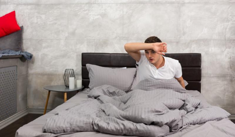 Жаркое помещение и теплое одеяло