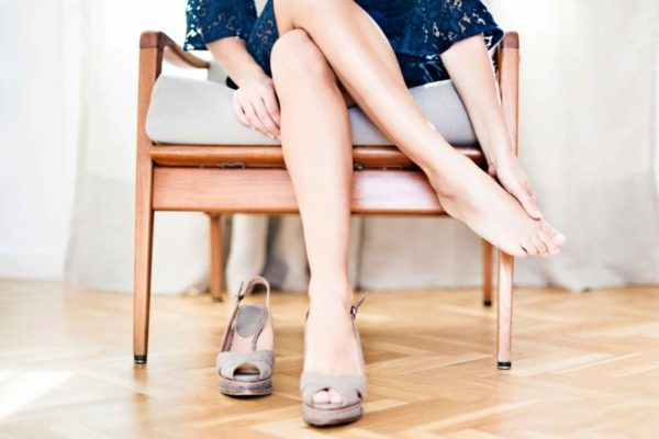 Гипергидроз ступней