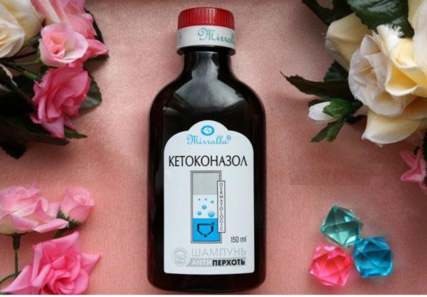 Шампунь от перхоти Мирролла Кетоконазол