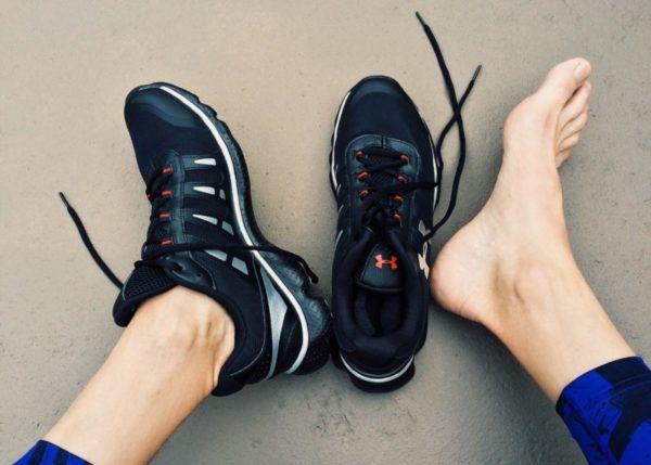 Длительное ношение тесной обуви