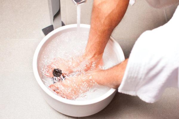 Ванночка с содой