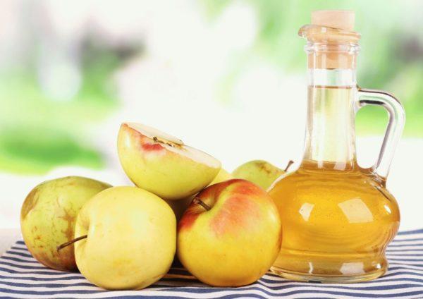 Яблочный уксус от себорейного дерматита