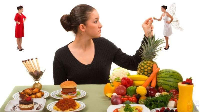 Употребление здоровой пищи