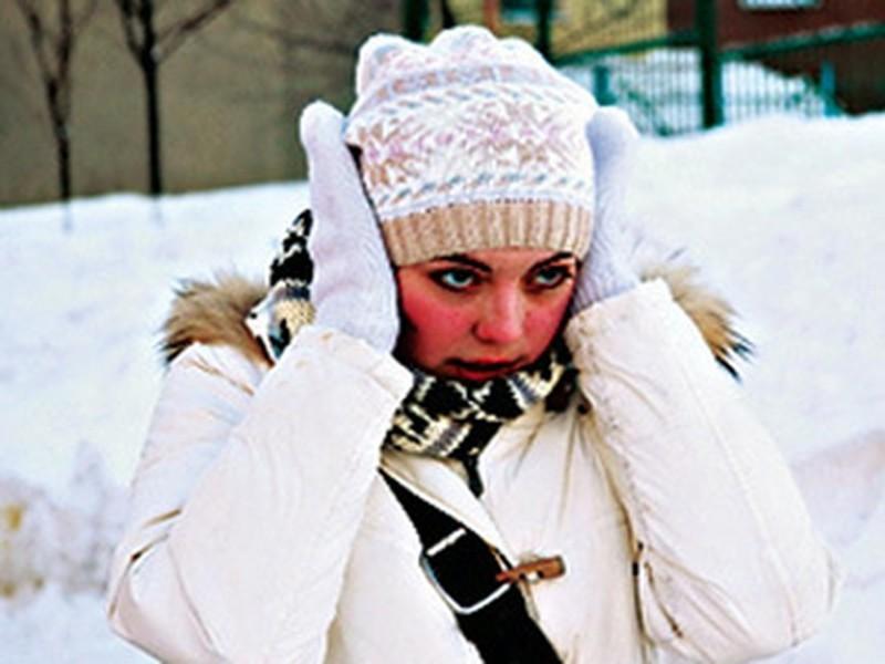 Беречь уши в холодную погоду