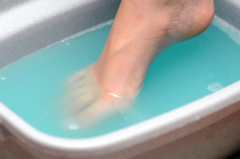 Размягчение кожного покрова рук и ног