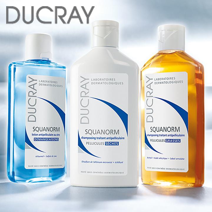 Шампуни Ducray