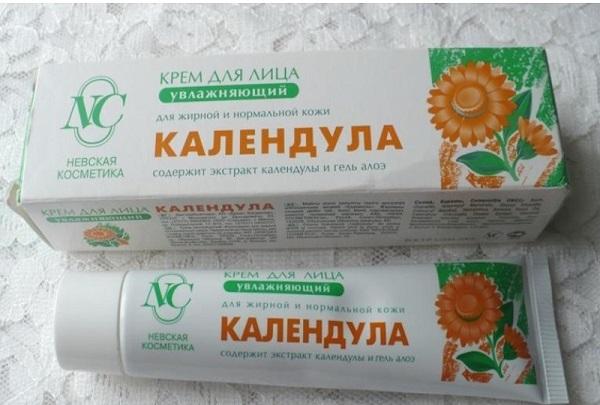 Крема и мази из цветков календулы